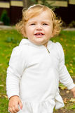 Cute smiling infant Royalty Free Stock Photography