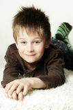 Cute smiling little boy Stock Photography