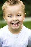 Cute, smiling Little Boy Portrait Royalty Free Stock Image