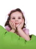 Cute smiling little girl Stock Image