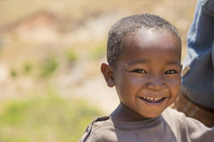 Cute smiling Malagasy kid portrait Stock Photo