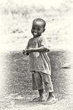 Cute smily from Ghana Royalty Free Stock Image