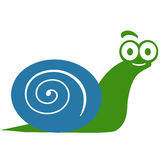 Cute Snail. An illustration of a cute snail Royalty Free Stock Photo