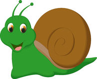 Cute snail cartoon cartoon Stock Photography