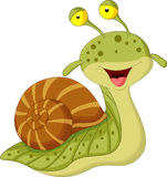Cute snail cartoon Stock Photo