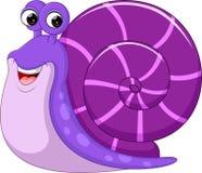 Cute snail cartoon. Illustration of Cute snail cartoon Royalty Free Stock Photos