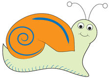 Cute Snail Royalty Free Stock Photography