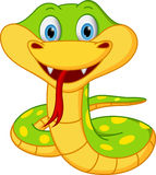 Cute snake cartoon royalty free illustration