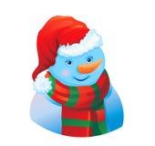 Cute snowman! Stock Photography