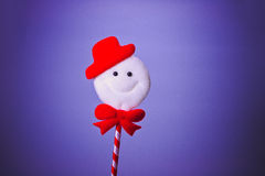Cute snowman Royalty Free Stock Image
