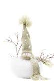 Cute Snowman Home Decor Stock Photography
