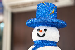 Cute Snowman Stock Images