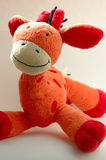 Cute soft toy. Babys darling stock photography