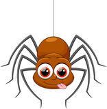 Cute spider cartoon. Illustration of Cute spider cartoon Stock Images