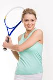 Cute sportswoman Royalty Free Stock Images