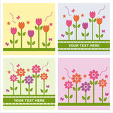 cute spring backgrounds Royalty Free Stock Photos