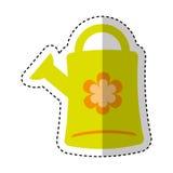 Cute sprinkler garden icon Royalty Free Stock Image