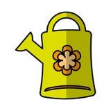 Cute sprinkler garden icon Stock Images