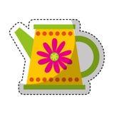 Cute sprinkler garden icon Royalty Free Stock Photo