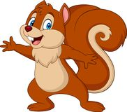 Free Cute Squirrel Cartoon Royalty Free Stock Photography - 115768847