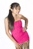 Cute srilankan teen Stock Images