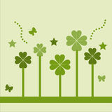Cute st. patrick's day card Stock Photos