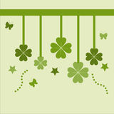 Cute st. patrick's day card Royalty Free Stock Images