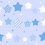 Cute Star Seamless Pattern Background Vector Royalty Free Stock Photos