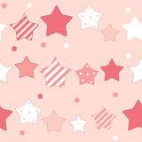 Cute Star Seamless Pattern Background Vector Royalty Free Stock Image