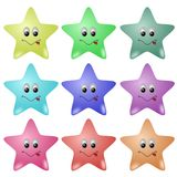 Cute Stars Royalty Free Stock Photography