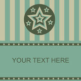 Cute stars frame Royalty Free Stock Photos