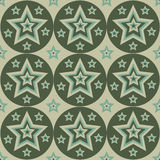 Cute stars pattern Royalty Free Stock Images