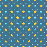 Cute stars pattern stock images