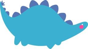 Cute Stegosaurus Stock Photo