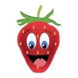 Cute strawberry illustration Stock Photography