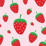 Cute strawberry pattern Stock Photo
