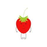 Cute strawberry Royalty Free Stock Photos