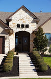 Cute Stucco House Bungalow Stock Photography