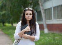 Cute student's portrait Stock Images