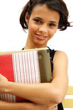 Cute student teenage girl Royalty Free Stock Photography