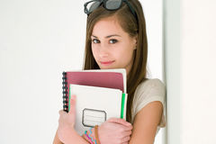 cute student very young Fotografia Stock