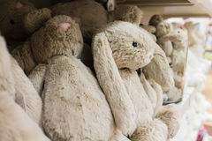 Cute stuffed animals on display 2 royalty free stock images