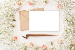 Cute and stylish branding mockup photo stock photos