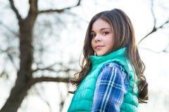 Cute Stylish Caucasian Tween Stock Photos
