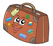 Cute suitcase Stock Image