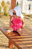 Cute summer baby Royalty Free Stock Image