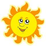Cute summer Sun Stock Photos
