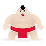 Cute sumo wrestler Stock Image