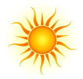 Sun logo Royalty Free Stock Photo