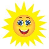 Cute sun Stock Photography